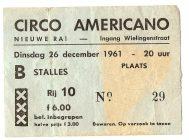cirkusbillet